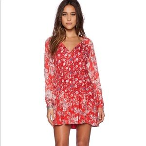 Free People Lucky Loosey Swing Dress Medium
